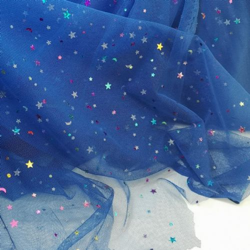 Sparkle Tulle | Royal Blue | K36A -W7 | 54""